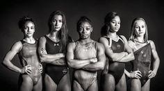 Here they are: Simone Biles Laurie Hernandez Aly Raisman Gabby Douglas and Madison Kocian! #RioReady - http://ift.tt/1HQJd81