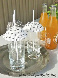 Keep the bugs out of your drinks! See other hacks that I love here, too!