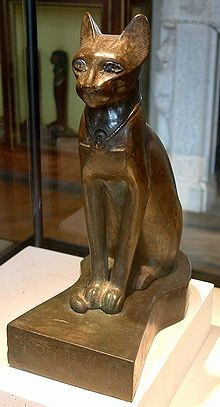 As a revered animal and one important to Egyptian society and religion, some cats received the same mummification after death as humans. Mummified cats were given in offering to Bast.[citation needed] In 1888, an Egyptian farmer uncovered a large tomb with mummified cats and kittens. This discovery outside the town of Beni Hasan had eighty thousand cat mummies, dating to 2000-1000 BC.