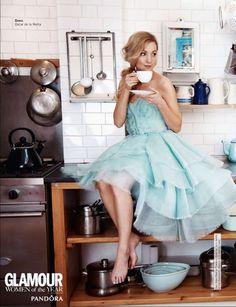Anna Bates in the Kitchen