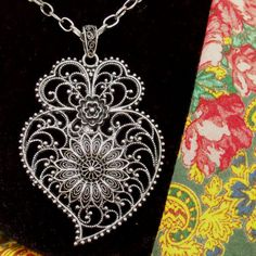 Portuguese silver filigree Heart of Viana necklace Rafael gives Kri for Christmas Broken Series, Metal Tattoo, Silver Lining, Silver Filigree, Wire Wrapped Jewelry, Designs To Draw, Cousins, Tattoo Inspiration, Metals