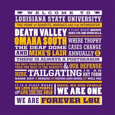 THIS. IS. PERFECT!! I want this T-shirt! <3 Geaux Tigers, and FOREVER LSU!!