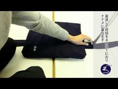 How to fold Kendo Hakama - YouTube
