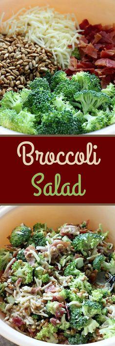 Broccoli Salad , Recipe Treasures Blog