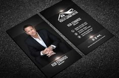 Real Estate Business Cards | Business Card Templates for Keller Williams, Century 21, Remax, Coldwell Banker, Berkshire Hathaway and more