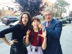 Anne Hathaway and Robert De Niro Behind the Scenes of The Intern - A New Film by Nancy Meyers