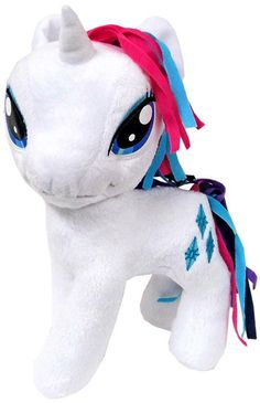 Funrise Brand 10 Inch Rainbow Power Plush Rarity