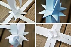 Such great paper DIY for Christmas! | Paper stars- a tutorial | A Subtle Revelry