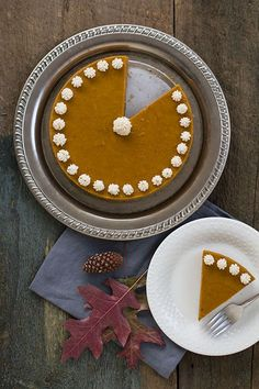 Autoimmune-Friendly Pumpkin Spice Cake w/ Gingersnap Crust