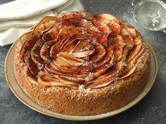 Bolo de erva-doce e maçã (Fennel apple cake)