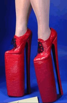 de6bf9fc278 5 of the highest heels ever made -   2 These vertiginous platforms from  LadyBWear Limited of Cheadle
