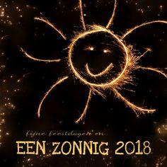 kerstkaarten 2018 | Kerst zonnig vuurwerk - 2018 - Kerstkaarten - Kaartje2go
