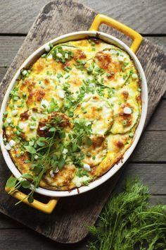 Courgettes au fromage - Recette - Plat principal