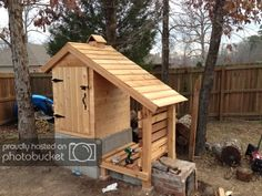 Smokehouse Build by Nick Dunin Smokehouse, Cool Websites, This Is Us, Shed, Outdoor Structures, Building, Outdoor Decor, Lean To Shed, Smoking Room