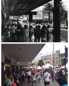 Forest Road, Hurstville (Sydney), 1980 & 2017 #sydney #history #lifegoeson http://fat.ly/ggbE (Instagram Image from @beliefmedia, 5th February 2017 2:43pm).