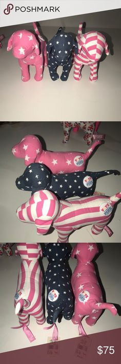 Rare vote pink dog!!! Like new!!  Smoke free, pet free home!! $25 each Other