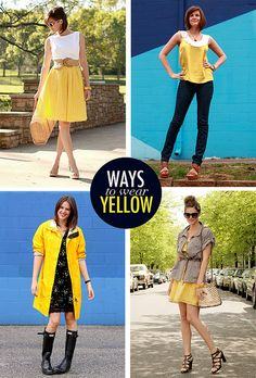 Belt - inspiration up styles, fashion, summer wear, circle skirts, the dress, summer outfits, yellow skirt, closet, vintage style