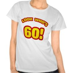 >>>Coupon Code          Fun 60th Birthday Presents T-shirt           Fun 60th Birthday Presents T-shirt We have the best promotion for you and if you are interested in the related item or need more information reviews from the x customer who are own of them before please follow the link to see...Cleck Hot Deals >>> http://www.zazzle.com/fun_60th_birthday_presents_t_shirt-235248671205972974?rf=238627982471231924&zbar=1&tc=terrest