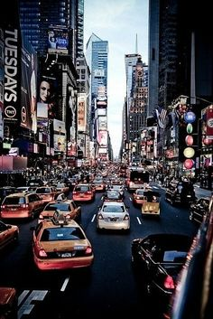 Times Square, New York City, NY - I've been there, but I'd love to go back with John