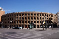 Plaza de Toros. Valencia. Spain ✈✈✈ Here is your chance to win a Free International Roundtrip Ticket to Valencia, Spain from anywhere in the world **GIVEAWAY** ✈✈✈ https://thedecisionmoment.com/free-roundtrip-tickets-to-europe-spain-valencia/