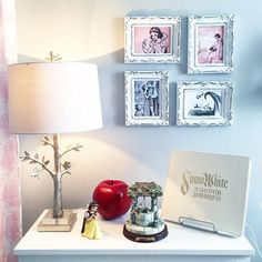 Disney At Home On Instagram From The Lamp To Ornaments Every Little Thing About Your Daughters Bedroom Is Perfect We Love Level Of Detail