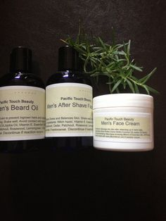 Mens Skin Care Package by pacifictouchbeauty on Etsy, $29.99