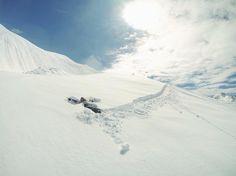 """C H I A R A L I T A on Instagram: """"Making snowboard angels ❄️ #offpiste"""""""