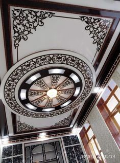 Gypsum Ceiling Design, House Ceiling Design, Ceiling Design Living Room, Bedroom False Ceiling Design, Roof Design, Ceiling Decor, Wall Design, Living Room Designs, House Architecture Styles