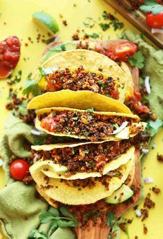 25 Vegan Taco Recipes #vegan #glutenfree | Vegetarian Gastronomy