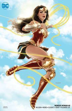 DC Comics Runs Variant Covers Alongside Standard Covers in P… – Marvel Comics Wonder Woman Art, Wonder Woman Comic, Wonder Women, Wonder Woman Drawing, Wonder Woman Superhero, Female Superhero, Superman Wonder Woman, Marvel Dc Comics, Dc Comics Art