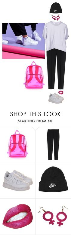 """""""Untitled #926"""" by mywayoflife ❤ liked on Polyvore featuring Theory and NIKE"""