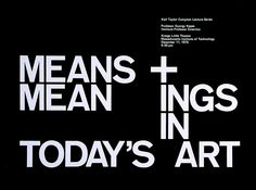 Poster by Jacqueline Casey for MIT, 1975
