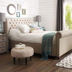 Penelope Tufted Bed - Queen
