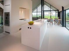 model home decor Casa Loft, Interior Minimalista, Minimalist Kitchen, Cuisines Design, Küchen Design, Interior Design Kitchen, Home Kitchens, Interior Architecture, Sweet Home