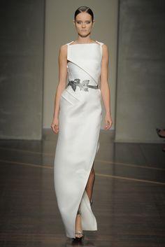 Gianfranco Ferré RTW Spring 2013 - Runway, Fashion Week, Reviews and Slideshows - WWD.com