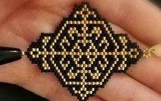 Perler Patterns, Peyote Patterns, Loom Patterns, Beading Patterns, Beaded Jewelry, Beaded Bracelets, Homemade Jewelry, Beading Projects, Bead Earrings