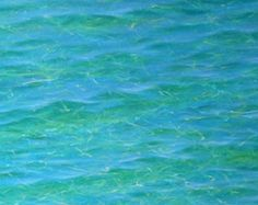 Learn how to paint amazing, luminous clear tropical water