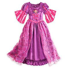 Disney Rapunzel Nightgown for Girls | Disney StoreRapunzel Nightgown for Girls - She'll enjoy towering dreams of romantic boat journeys and floating lanterns with our Rapunzel Nightgown for Girls. Its enchanting crisscross ribbon bodice, puffed sleeves, and organza overlay bring the fairytale to life.