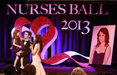 GH Patrick with his and Robin's daughter Emma and Sabina honnor Robin at the 2013 Nurses Ball. We Love Soaps: GENERAL HOSPITAL Nurses Ball Photos [SPOILER ALERT]