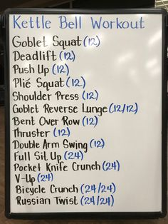 Hiit Workout At Home, Wod Workout, Workout Challenge, At Home Workouts, Fit Board Workouts, Fun Workouts, Tabata, Cardio, Kettles