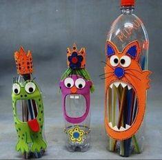 Las 20 manualidades con botellas recicladas más votadas en Facebook | Manualidades