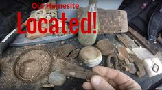 Garrett AT Pro Metal Detecting Old 1800's Home Site Footage