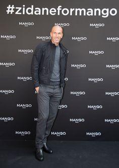 Zinedine Zidane for MANGO MAN Fall/Winter 2015 campaign