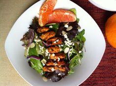 Ashley Marie's Kitchen: Spicy Cajun Chicken Salad