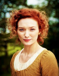 "New still of Eleanor Tomlinson as Demelza in the upcoming series ""Poldark"" (x)"