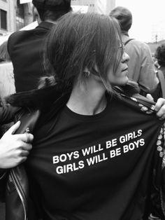 defy gender roles