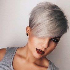 Short Hairstyles Dark Hair 2017 - 8