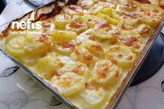 Νόστιμες πατάτες φούρνου με κρέμα γάλακτος