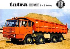 Trailers, Dump Truck, Big Trucks, Cars And Motorcycles, Vintage Cars, Off Road, Eastern Europe, Vehicles, History