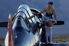 Reno Air Races 2012 - Pitbabe